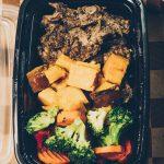 Steak and Sweet Potatoes Meal